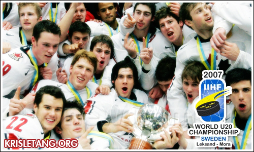 The 2007 World Junior Hockey Championships Was Held In Mora And Leksand Sweden Between December 26 2006 January 5