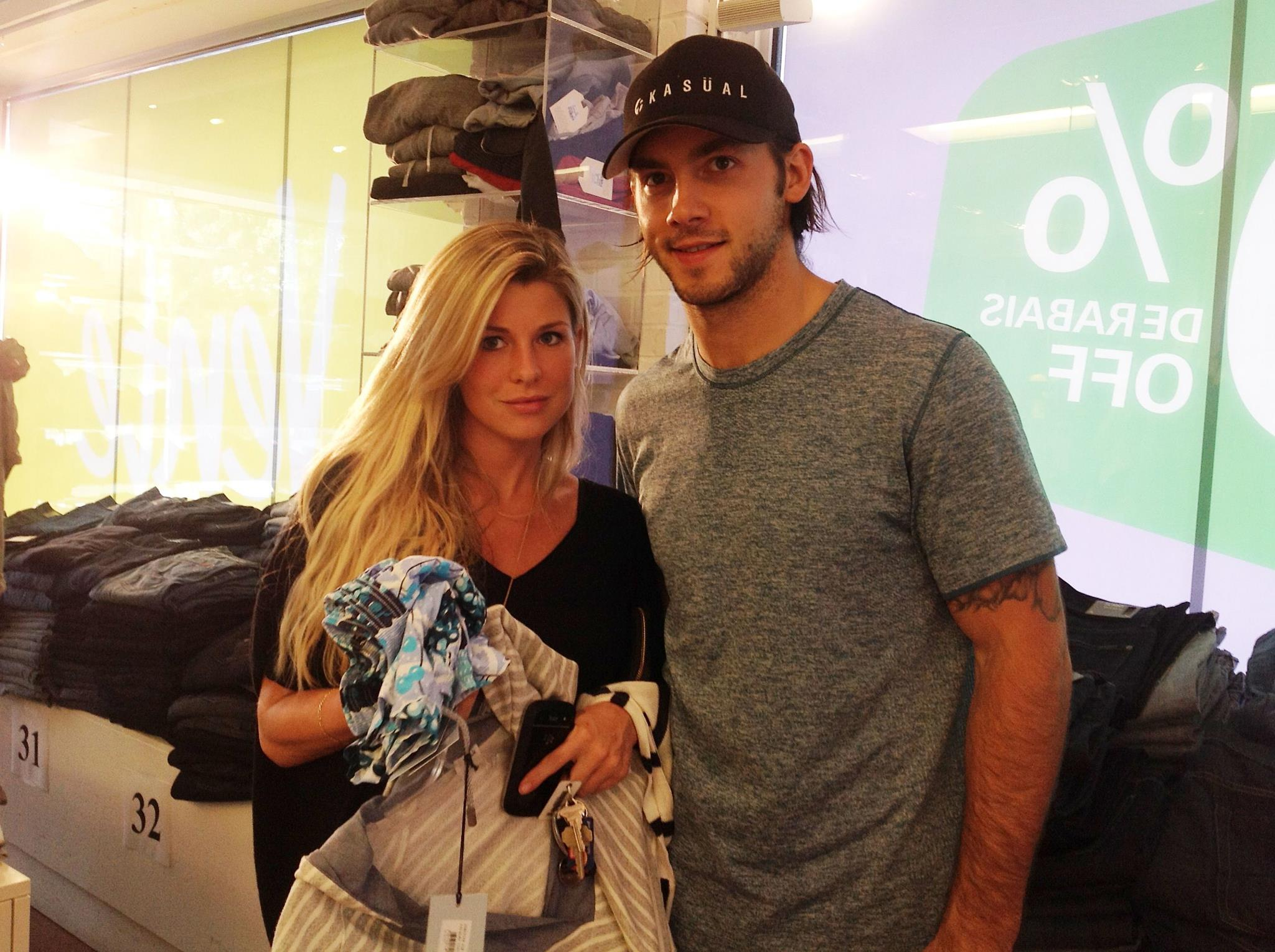 Kristopher LeTang with cool, friendly, fun, Girlfriend Catherine Laflamme
