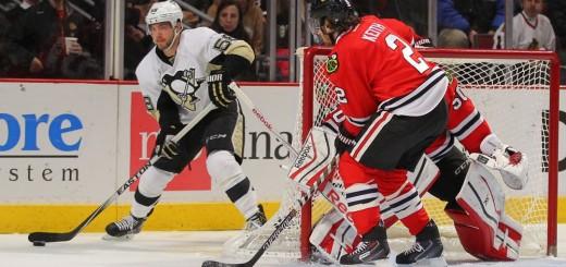 NHL: Pittsburgh Penguins at Chicago Blackhawks