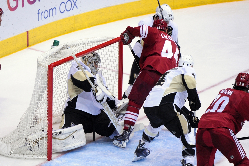 NHL: Pittsburgh Penguins at Arizona Coyotes
