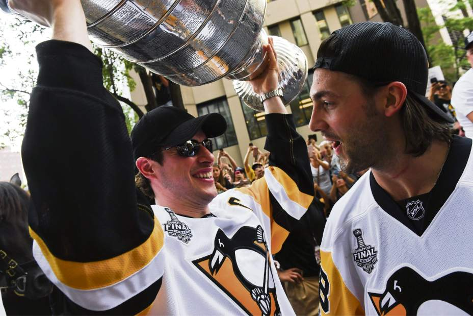 Pittsburgh stanley cup mastare