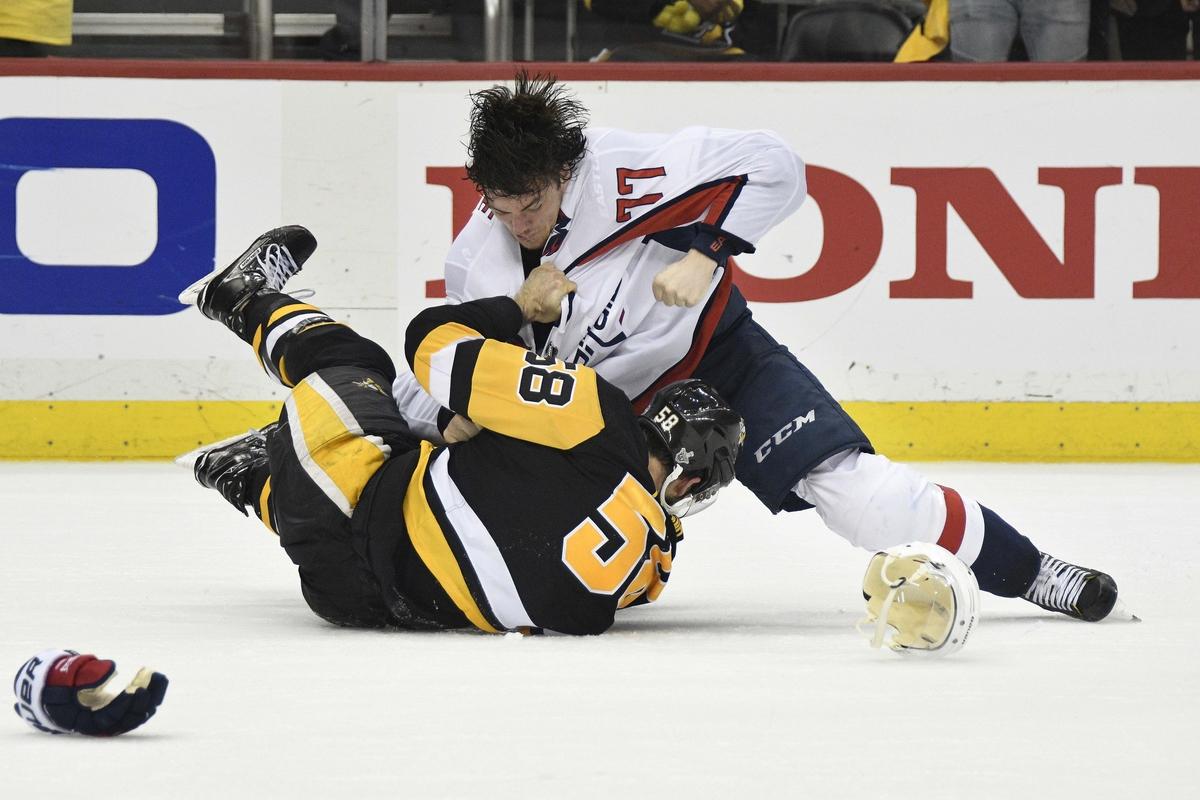 Penguins beat the Capitals 3-1 in Game 4 933de7198acf